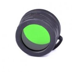Диффузор-фильтр Nitecore NFG40 для фонарей с диаметром головы 40 мм, зеленый