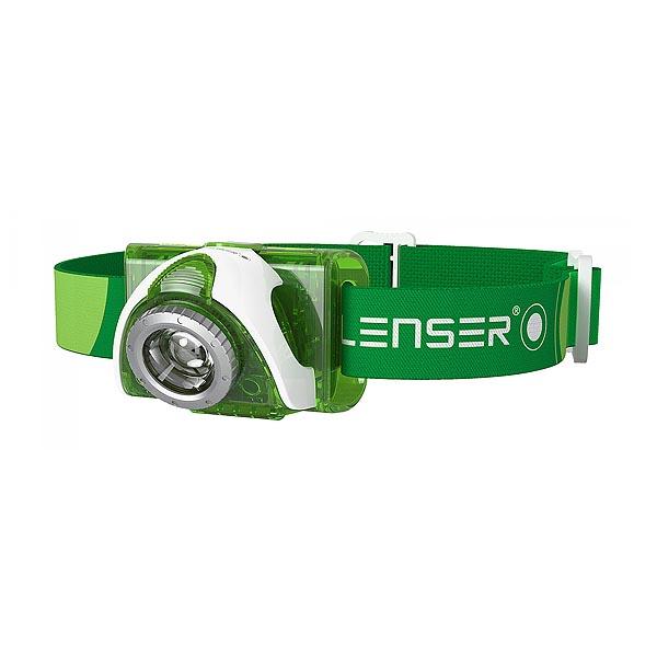 Налобный фонарь Led Lenser SEO 3 Green (6003)