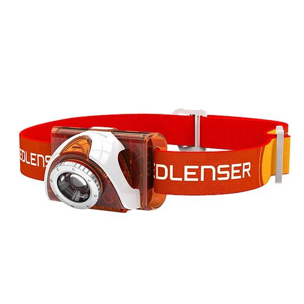 Налобный фонарь Led Lenser SEO 3 Orange (6004)