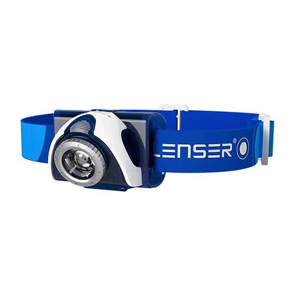 Налобный фонарь Led Lenser SEO 7R Blue (6007R)